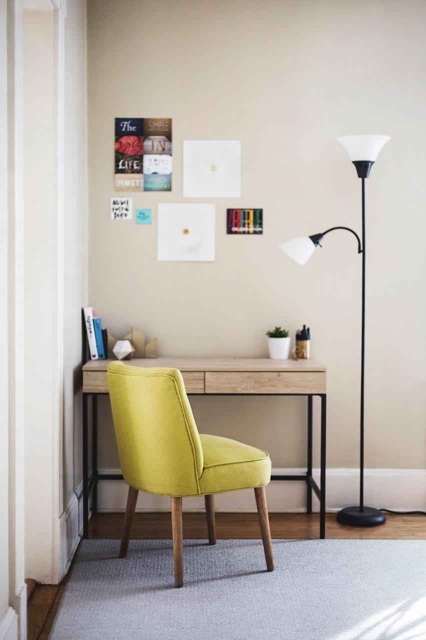 Zrób to sam lampa stojąca: Hand made a wystrój wnętrz