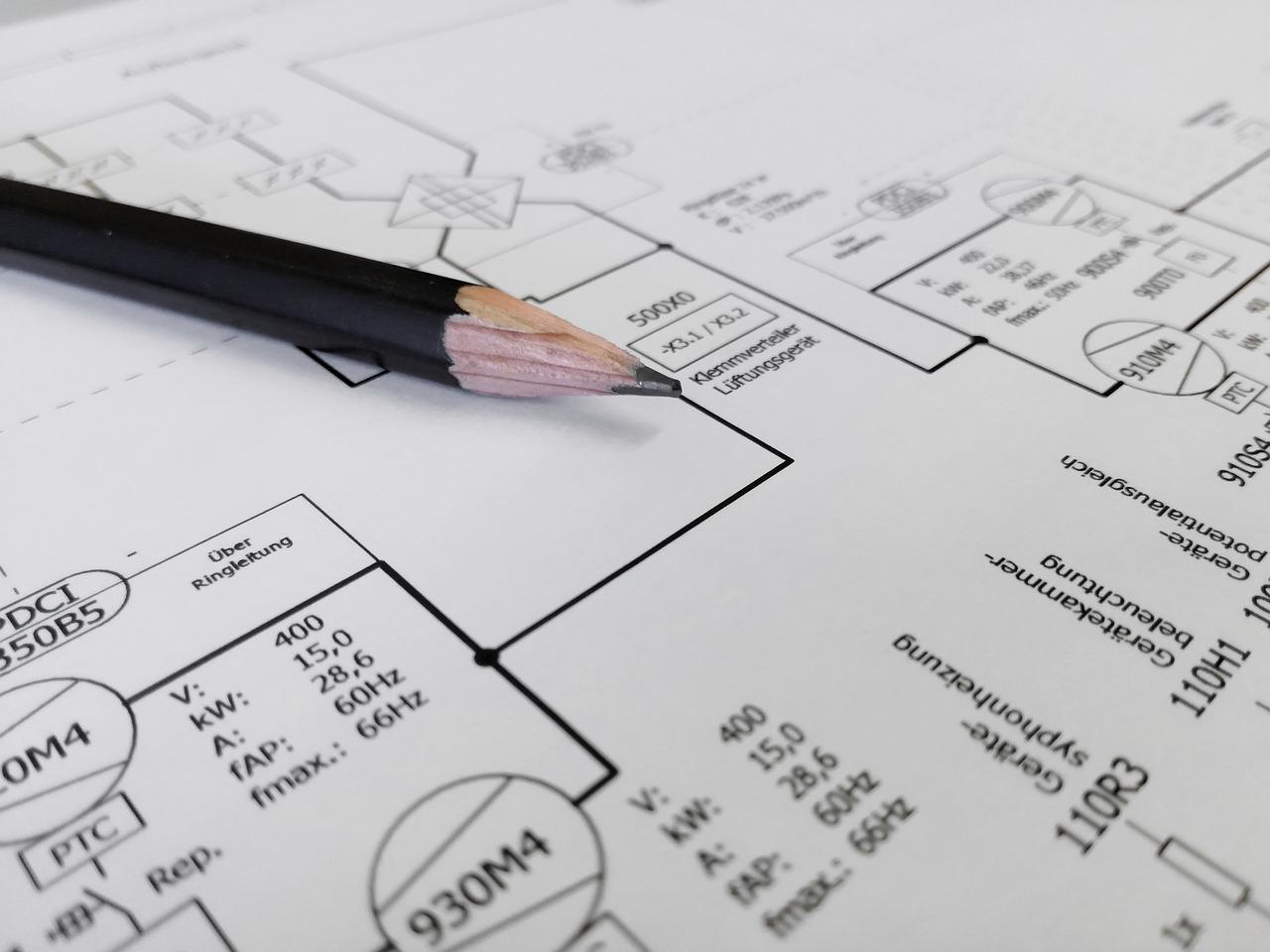Schematy elektryczne – oznaczenia schematu elektrycznego