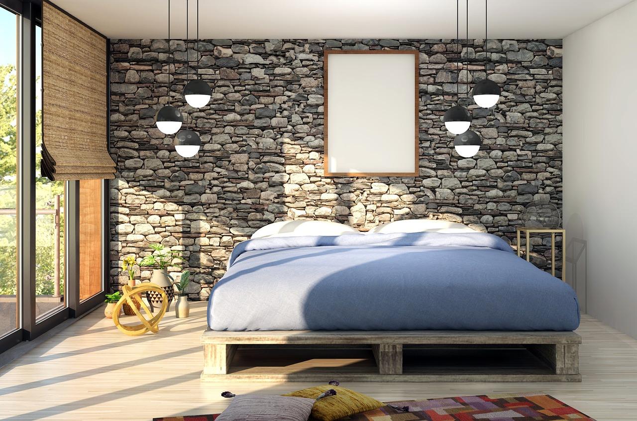Niebanalne oświetlenie w sypialni – lampy wiszące nad łóżkiem w sypialni