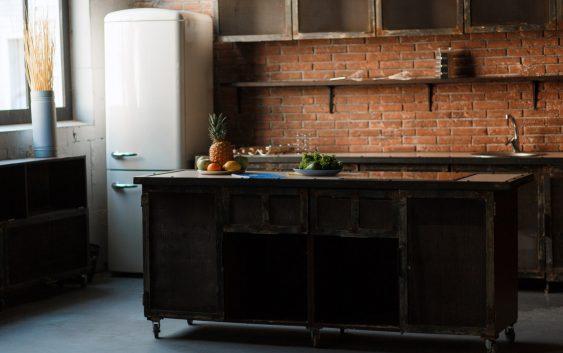 kuchnia w stylu loftowym